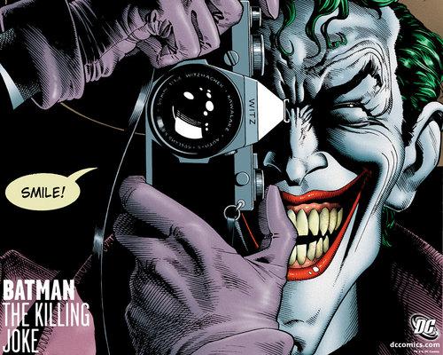 Batman Villains kertas dinding called Joker