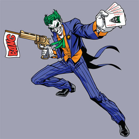 Batman Villains kertas dinding called Joker