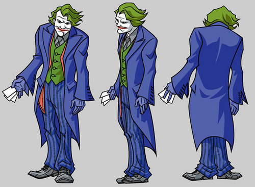 Batman Villains kertas dinding titled Joker