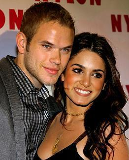 Kellan Lutz and Nikki Reed