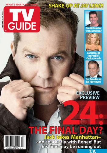Kiefer in TV Guide