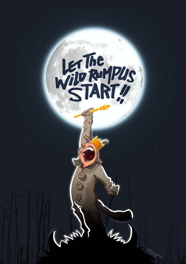 Let The Wild Rumpus Start!