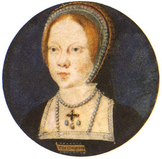 Mary I, reyna of England and Ireland