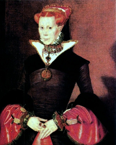 Mary I, reyna of England and Ireland