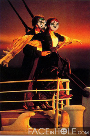 Me and Duncan in titanic!LOL