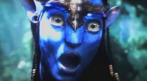Neytiri (Shocked? =P )