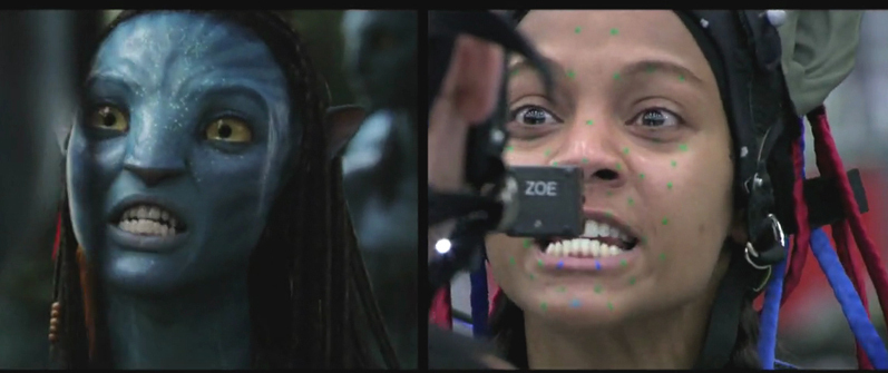 Avatar images Neytiri/Zoe (Behind The Scenes) wallpaper ...