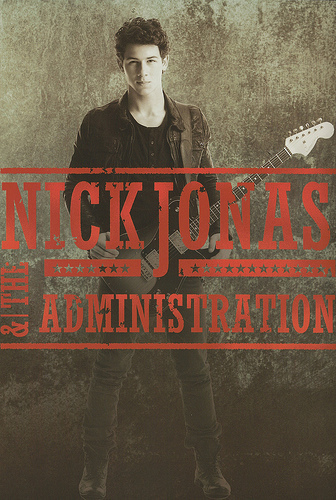 Nick Jonas & The Administration Promotionals/Tour Book