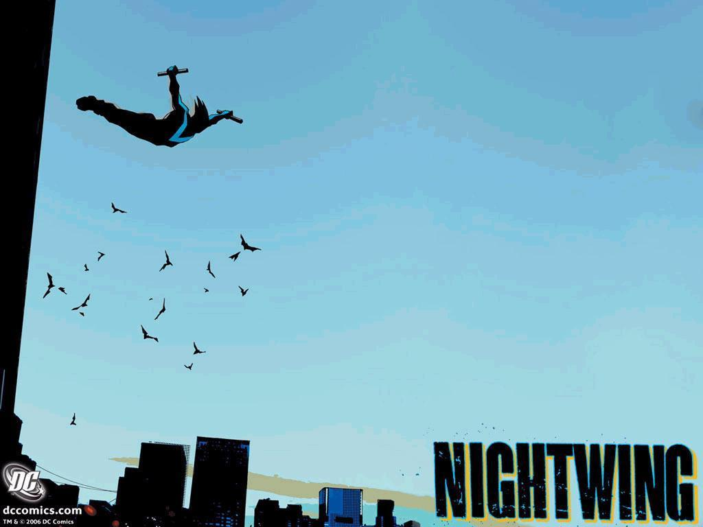 nightwing robin dick grayson nightwing wallpaper