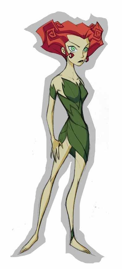 poison ivy villain images. Poison Ivy