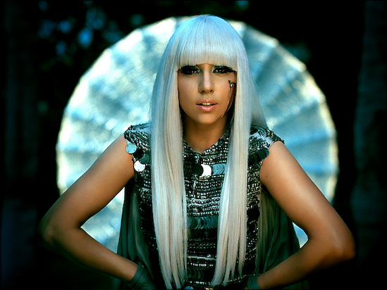 Lady Gaga Face. Poker Face - Lady Gaga Image