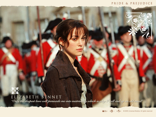 Period Films wallpaper containing a full dress uniform, regimentals, and dress blues titled Pride and Prejudice