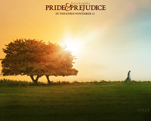 Period Films wallpaper with a barrow and a chuck wagon titled Pride and Prejudice