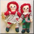 Raggedy Ann and Andy Christmas Dolls - raggedy-ann-and-andy photo