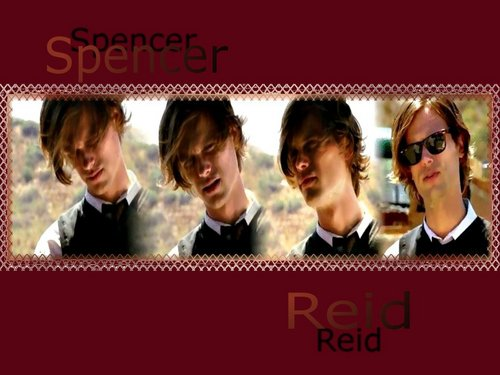 Dr. Spencer Reid wallpaper titled Reid
