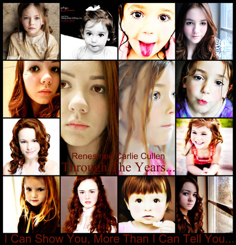 Renesmee: Through The Years...
