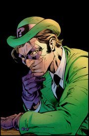 Batman Villains kertas dinding called Riddler