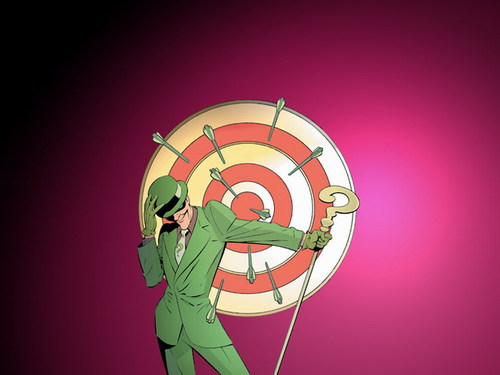 Riddler - batman-villains Wallpaper