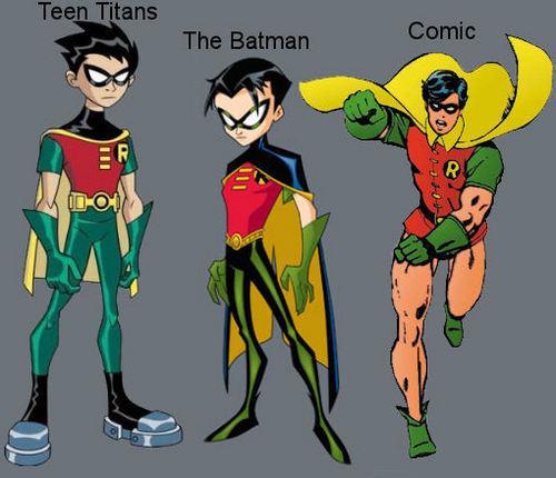 Robin version's