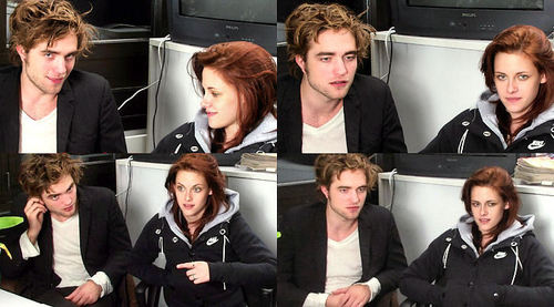 Robert Pattinson & Kristen Stewart 壁纸 called Robsten montage