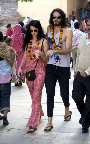 Russell and Katy in India (Dec 30th)