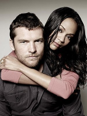Sam Worthington wallpaper called Sam Worthington & Zoe Saldana
