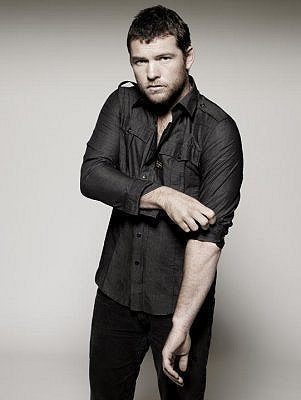 Sam Worthington achtergrond titled Sam Worthington