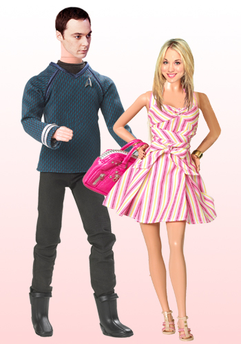 Sheldon &amp; Penny fanart - penny-and-sheldon Fan Art