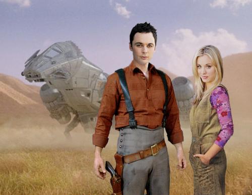 Sheldon & Penny fanart