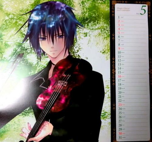 Shugo Chara Calendar 2010