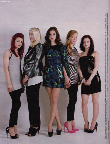 Skins Girls in Stella