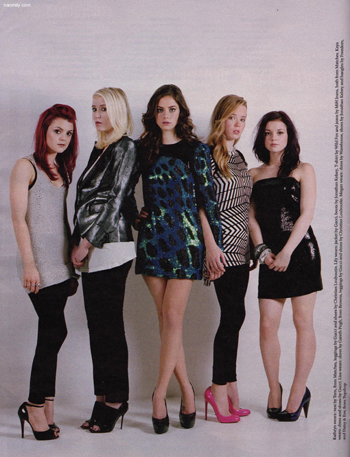 Skins Girls in Stella