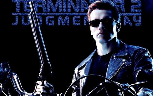 Terminator achtergrond titled Terminator 2