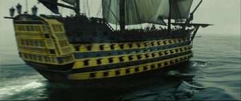 The Endeavour (lord beckett's ship)