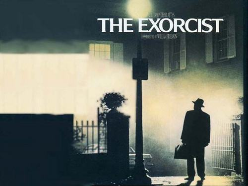 The Exorcist wallpaper with a strada, via entitled The Exorcist Wallppaper