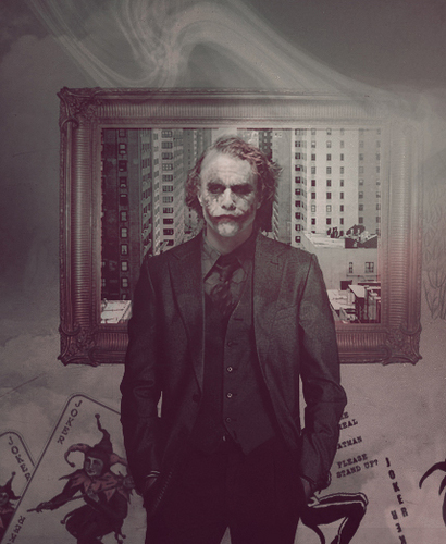 The Joker wallpaper containing a business suit, a well dressed person, and a suit titled The Joker