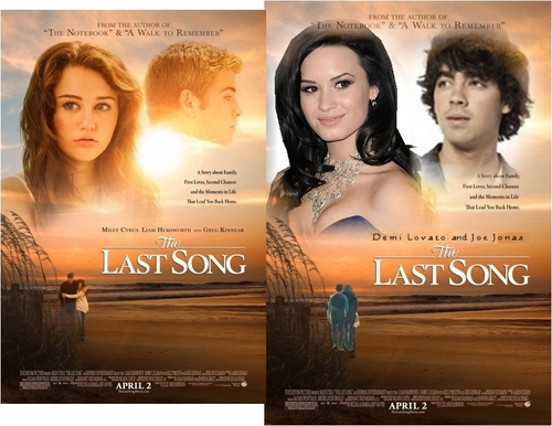 Jemi achtergrond entitled The Last Song - Jemi Style