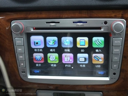 Volkswagen LAVIDA Car DVD Player GPS navigation touching sty,steering wheel