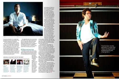 Zachary Levi in the January/February Issue of Relevant Magazine