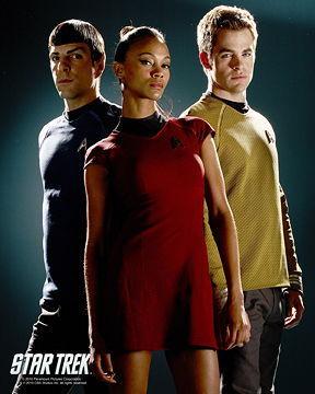 Zoe Saldana | estrella Trek Promotional fotografía