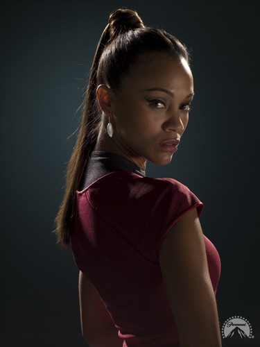 Zoe Saldana | Star Trek Promotional Photography