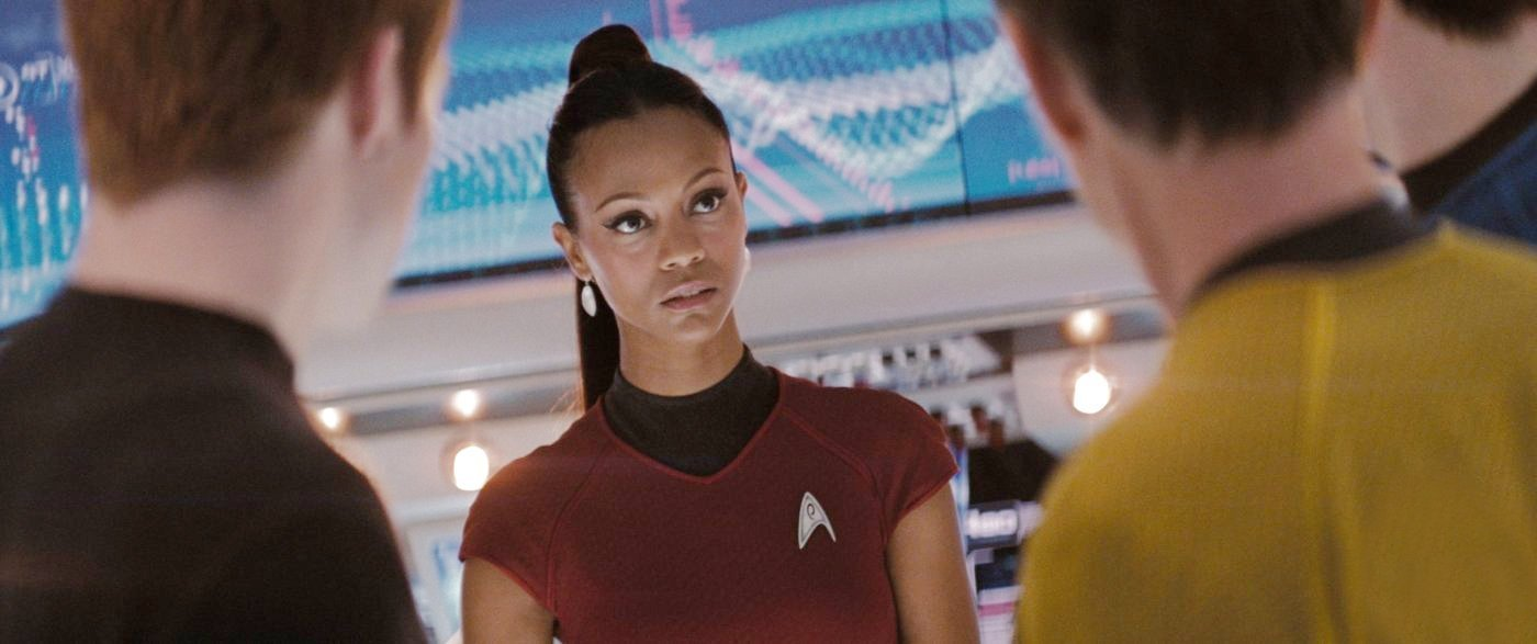 Zoe Saldana Star Trek Sex 73