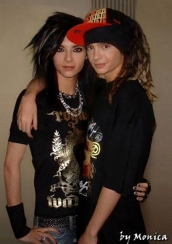 Tom & Bill Kaulitz fond d'écran entitled bill♥tom