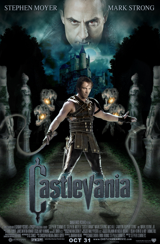 castlevania movie poster