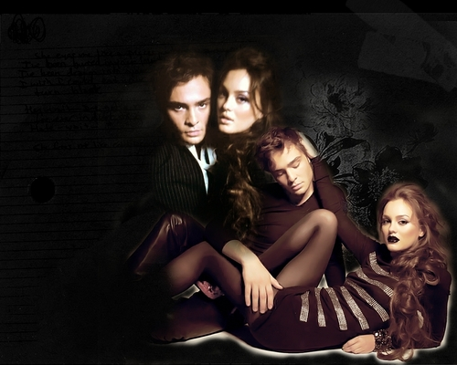 chuck ベース and blair waldorf