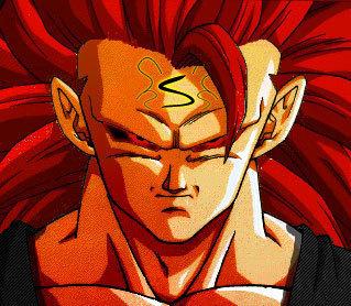 Dragon Ball Z karatasi la kupamba ukuta entitled goku