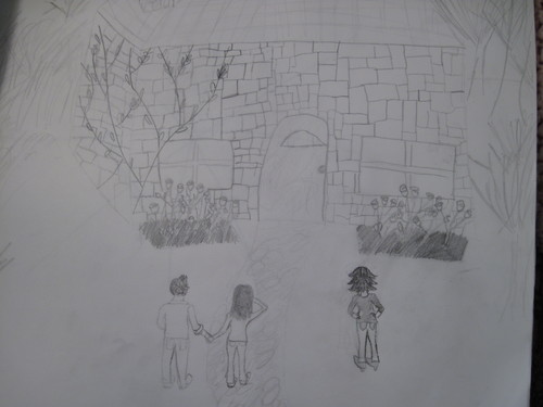 i drew this....edward and bella's cottage!!