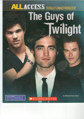 Siri-siri Twilight kertas dinding called 'The Guys of Twilight'