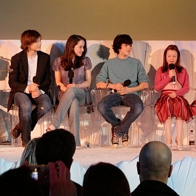 """The Lion, the Witch and the Wardrobe"" London DVD Press Conference"