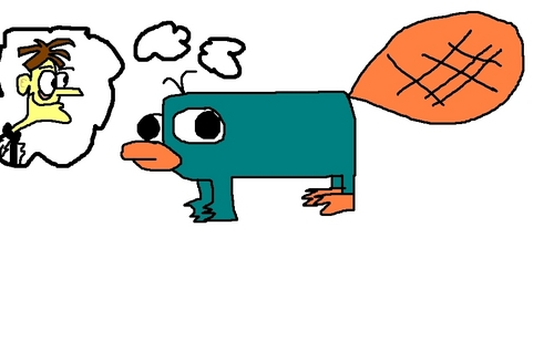 """What's Doofenshmirtz up to NOW?"" - perry-the-platypus Fan Art"